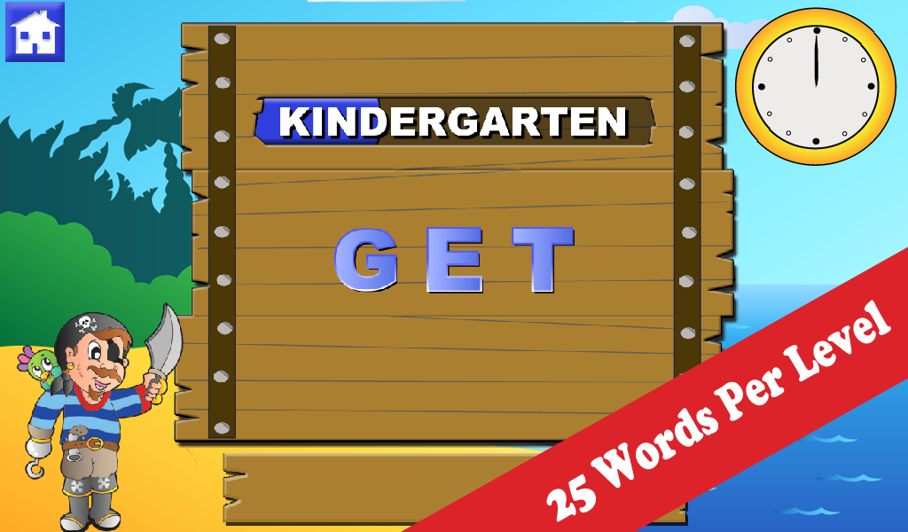 Wee Pirate Spelling- screenshot