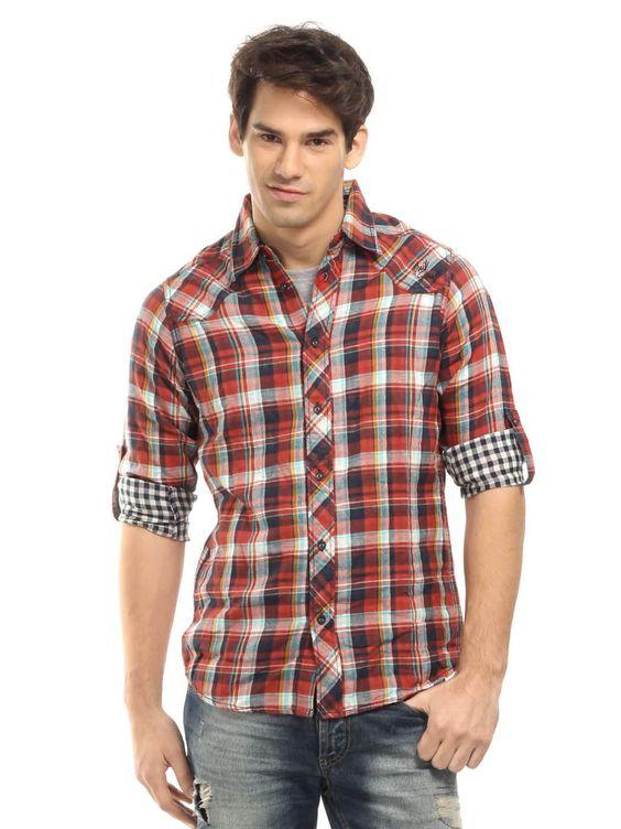 preppy button down shirt