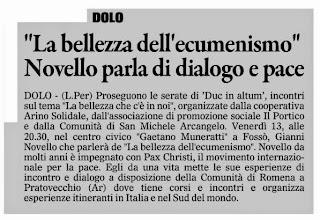 Photo: Il Gazzettino di Venezia (13.02.2015)
