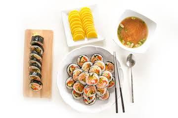 Tuna Gimbap (?? ??) – Chef Julie Yoon