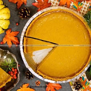 Pumpkin Pie with Condensed Milk.