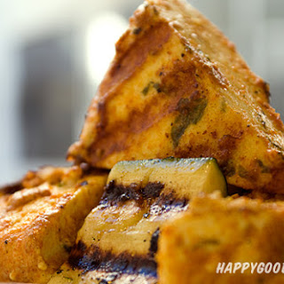 Tandoori Paneer – Spicy Kebabs with Indian Cheese.