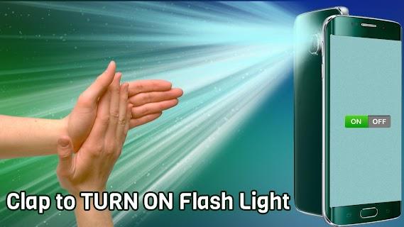 Flashlight on Clap screenshot 01