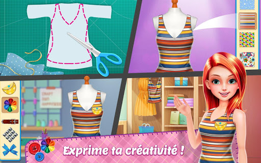 Star du stylisme  - Jeu de cru00e9ation de mode  captures d'u00e9cran 2