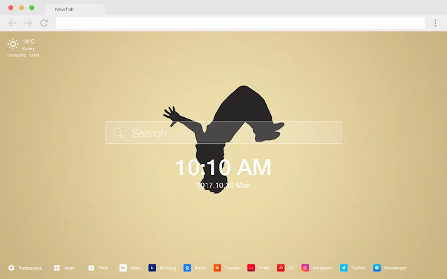 Parkour HD Popular Sports New Tabs Theme