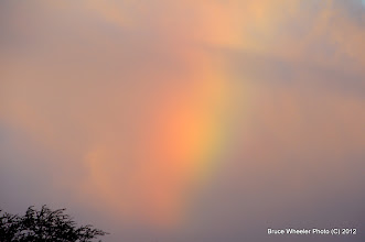 "Photo: Forecast: ""... a chance of passing rainbows."""