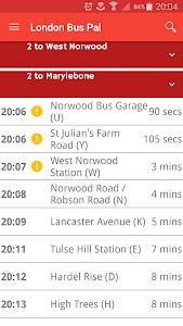 London Bus Pal screenshot 0