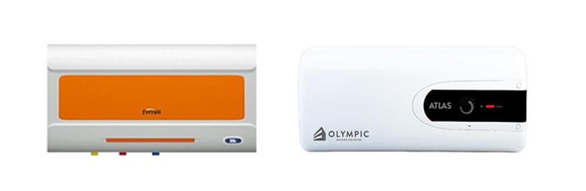 Bình nóng lạnh Olympic và Ferroli