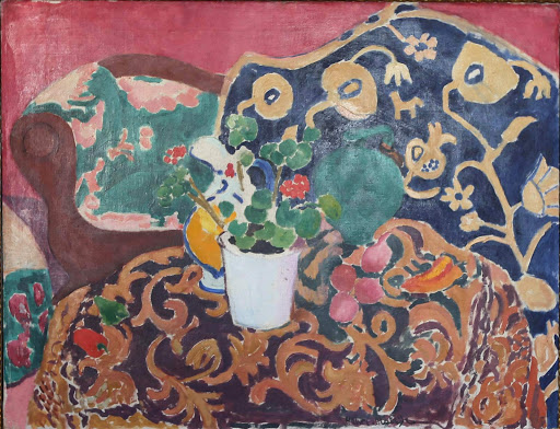 "henri-matisse-spanish-still-life.jpg -  Henri Matisse, ""Spanish Still Life,"" 1910, oil on canvas, at the Hermitage at St. Petersburg, Russia."