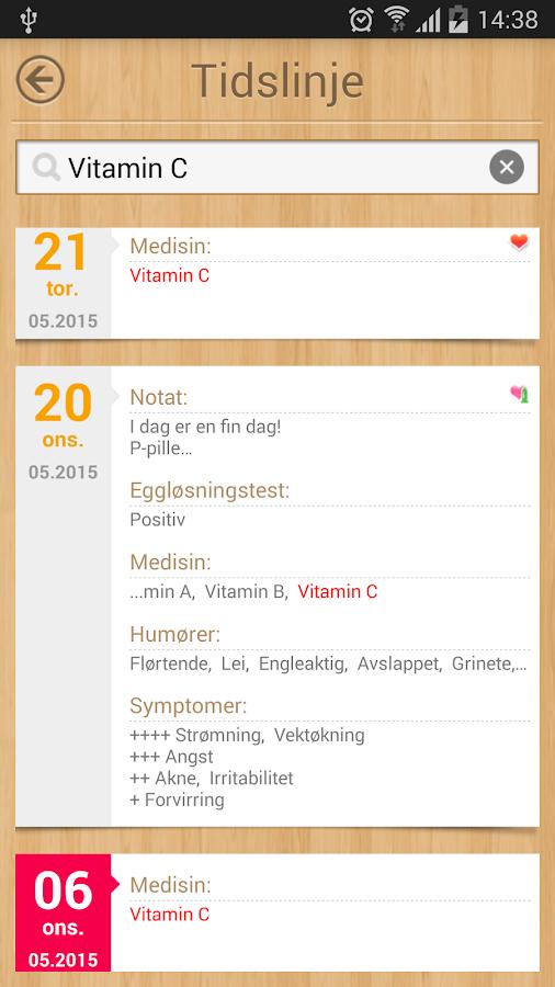 menstruasjon kalender gravid app android apper p. Black Bedroom Furniture Sets. Home Design Ideas