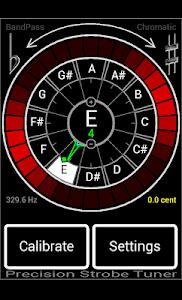 Precision Strobe Tuner Demo screenshot 3