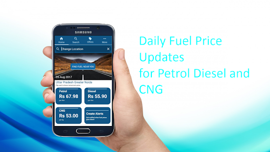 Fuelit -  Daily Petrol Diesel CNG prices India- screenshot thumbnail