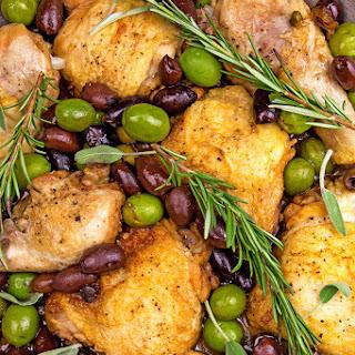 Umbrian Chicken Cacciatore.
