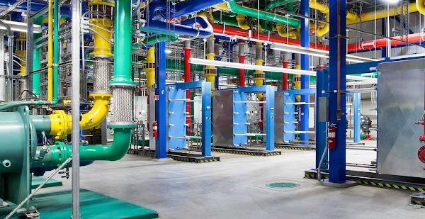 Tubulações no data center