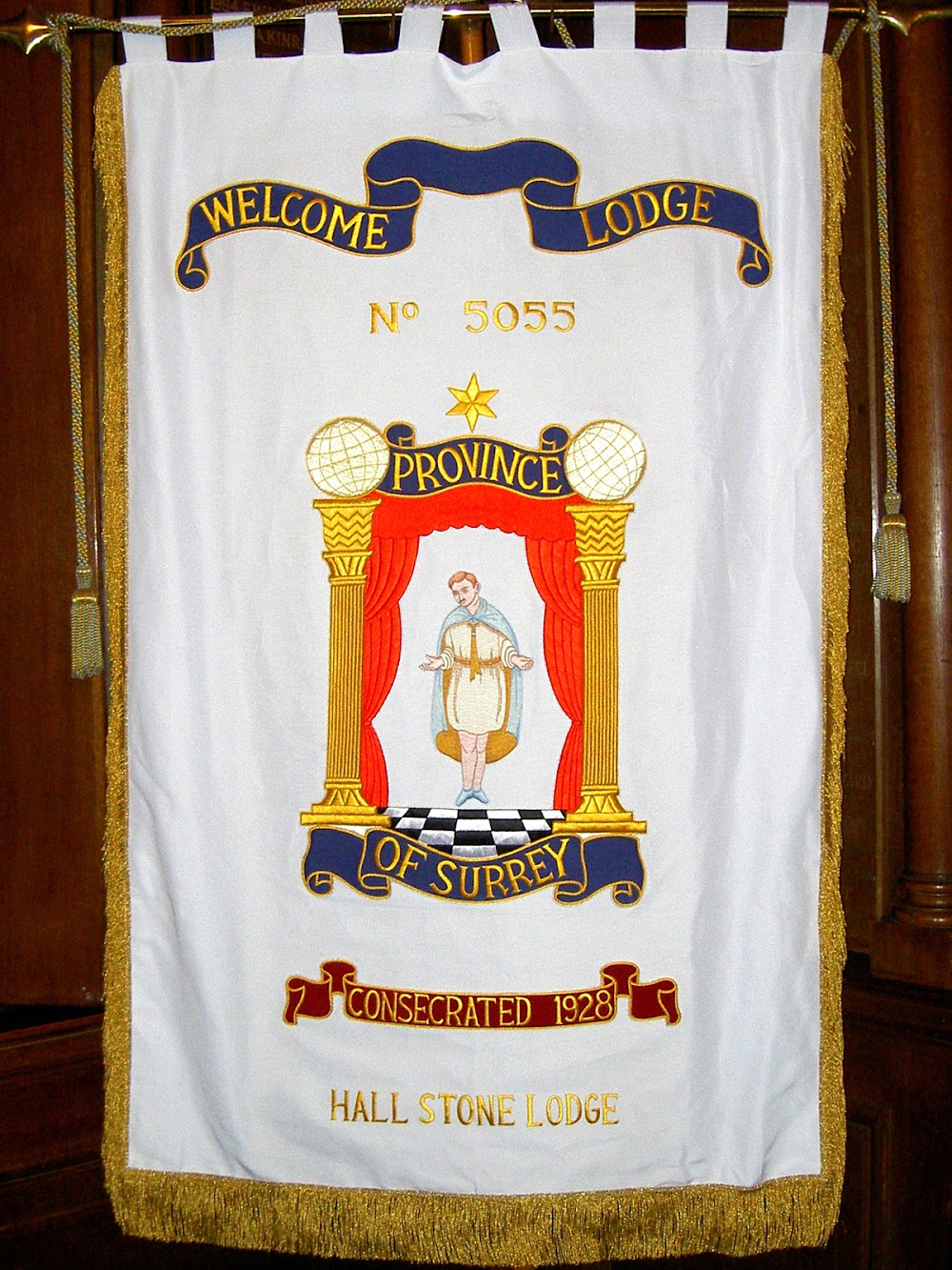 New Welcome Lodge No.5055 Banner