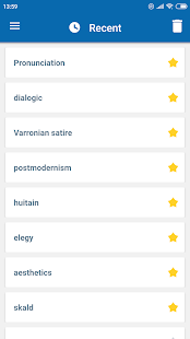 Oxford Dictionary of Literary Terms Screenshot