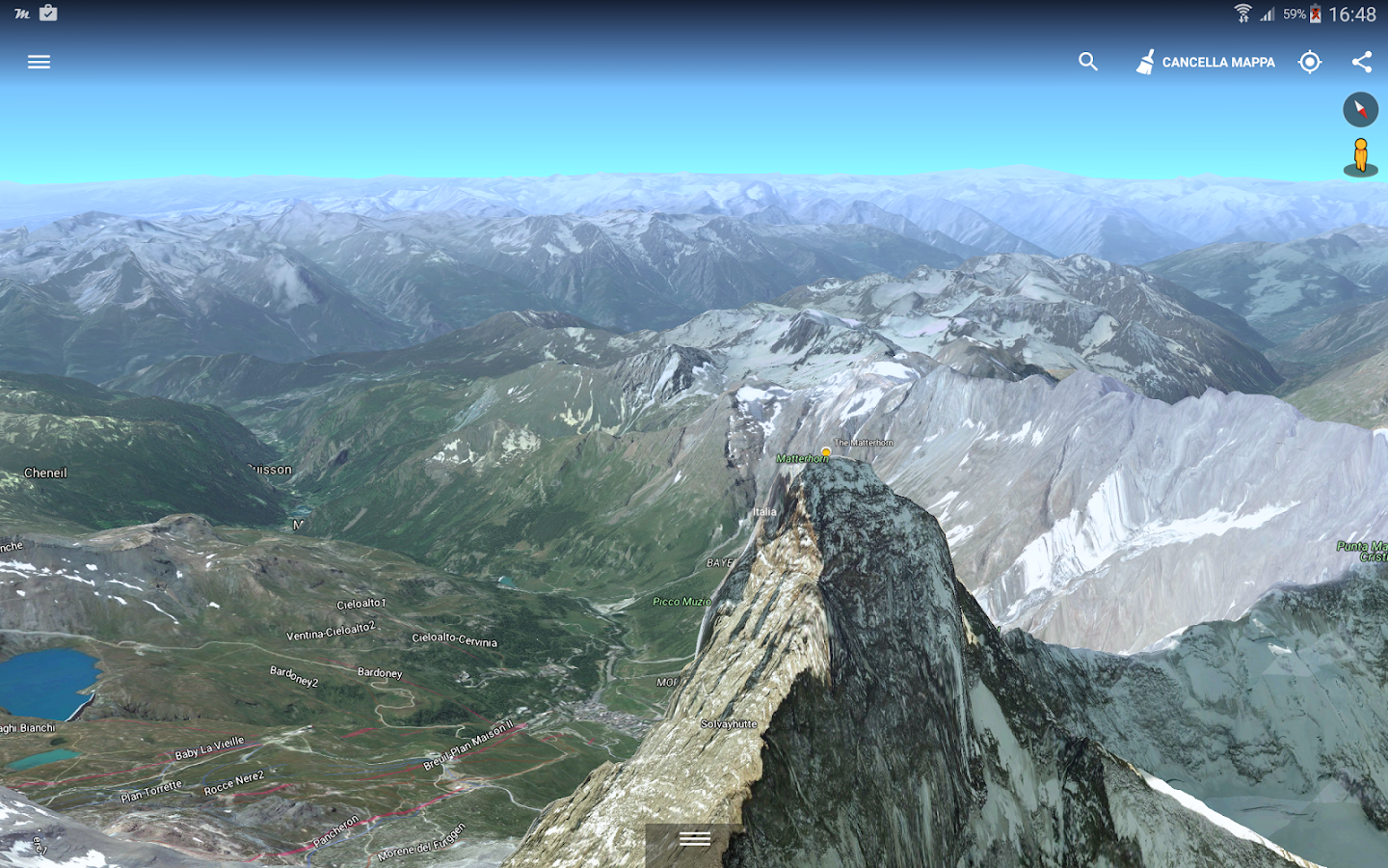 Mountain Live Explorer - ALPS- screenshot