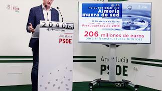 Sánchez Teruel durante su comparecencia