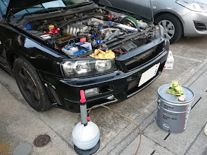 スカイライン ER34 25Gt-t改 H10年式のカスタム事例画像 とある都内の自動車整備士Yさんの2020年02月04日18:41の投稿