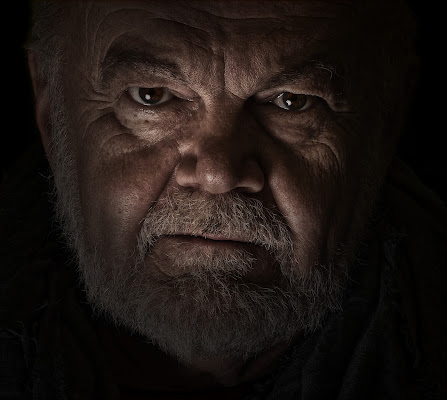 uomo con barba di Sil-M