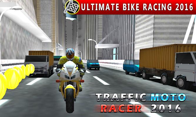 Traffic Moto Racer Stunt Rider - screenshot