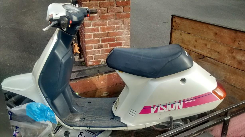 Welp Honda Vision 50 X | Retro Rides AM-63