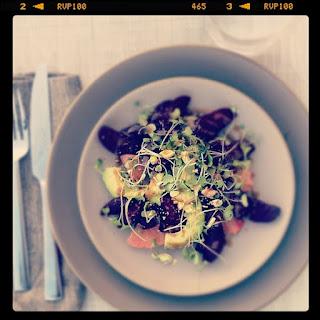 Beet, Avocado & Grapefruit Salad