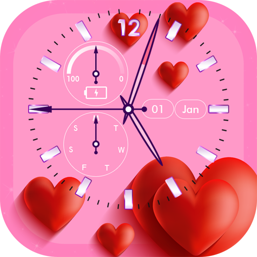 Love Clock Live Wallpaper file APK for Gaming PC/PS3/PS4 Smart TV