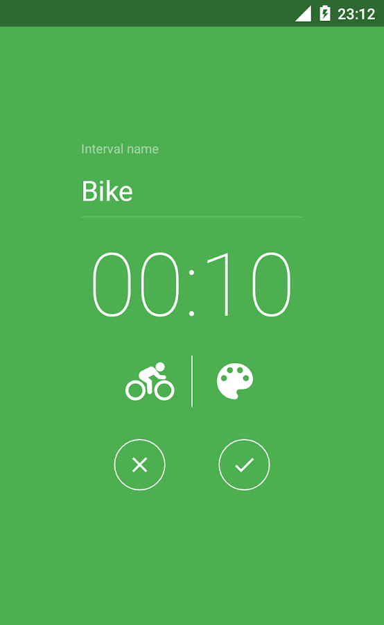 Interval Timer - HIIT TABATA CROSSFIT- screenshot