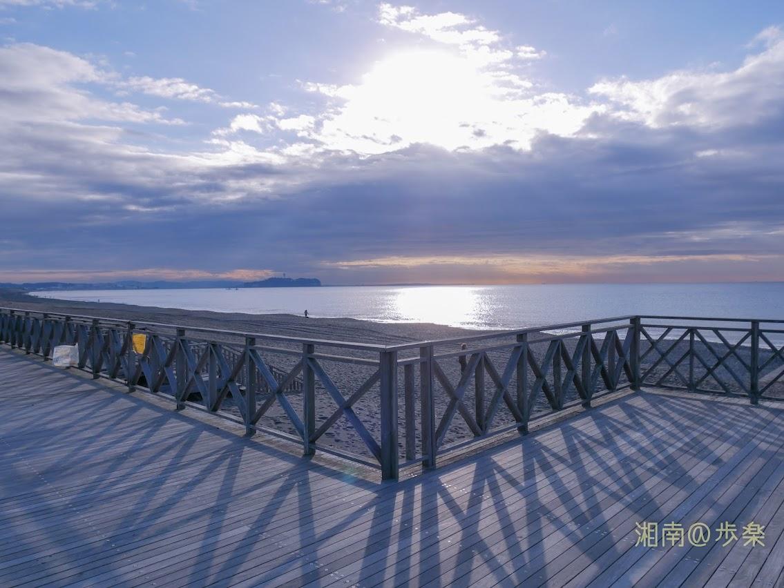汐見台ウッドデッキ2019 穏やかな冬の日 何にもないようで、ちょっと存在感のある場所
