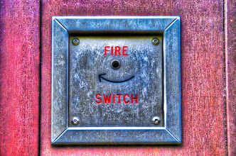 Photo: Smiling fire switch: yeah!