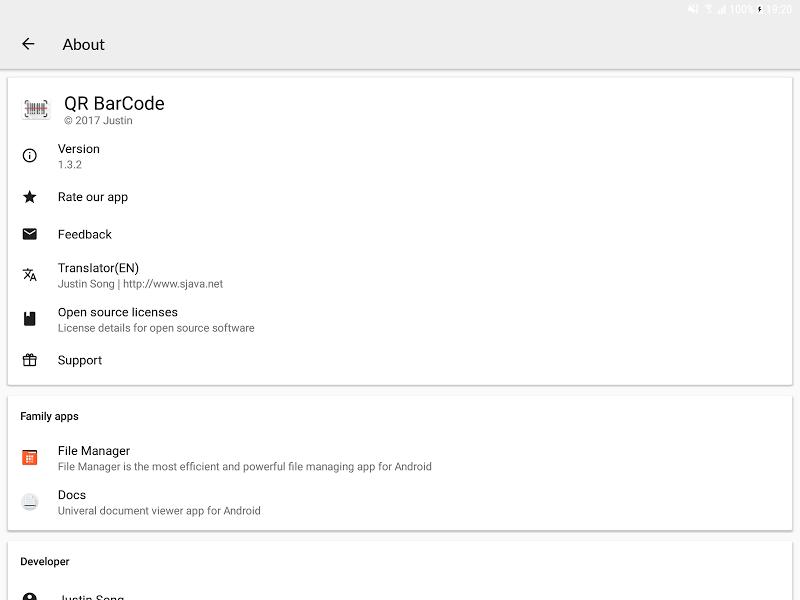 QR BarCode Screenshot 11