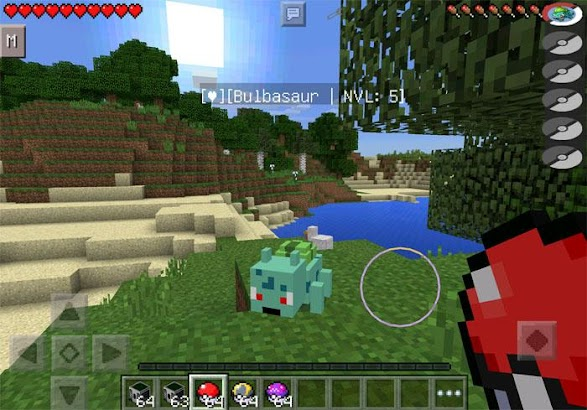 New Pixelmon GO Mod MineCraft- screenshot thumbnail