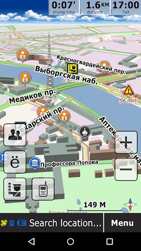 GeoNET. Maps & Friends 11.1.170 Screenshots 4