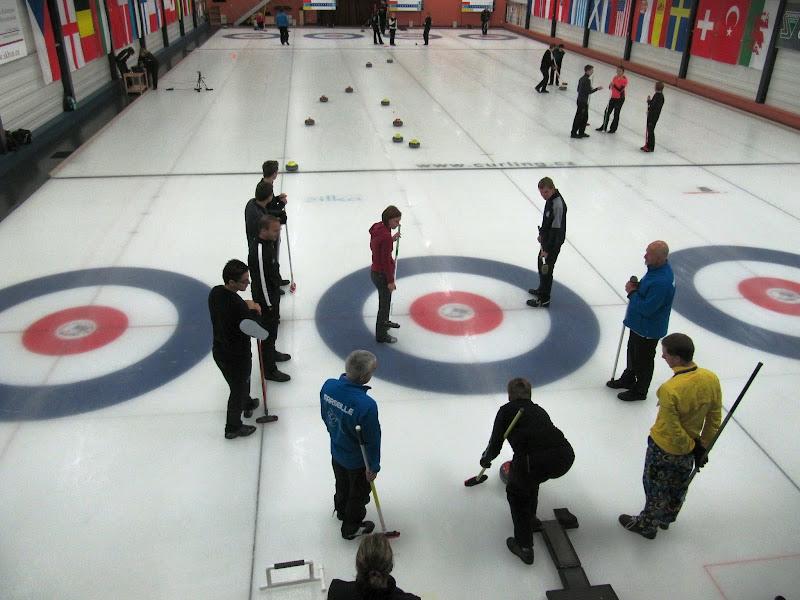 Photo: On-ice training drill