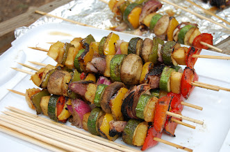 Photo: Finished kabobs - we presented only 3, not knowing there were 8 judges (that left plenty for us to eat!!)