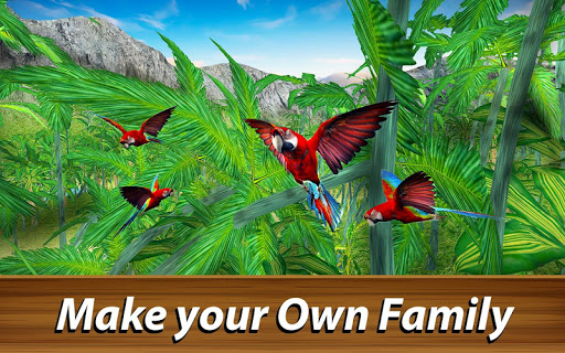 ud83dudc26 Wild Parrot Survival - jungle bird simulator! 1.2.1 screenshots 3