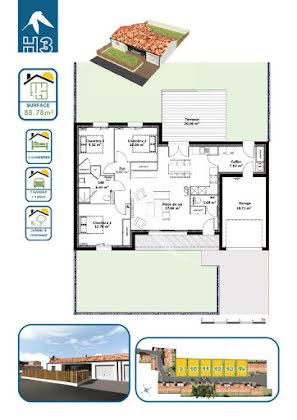 Vente maison 4 pièces 88,78 m2