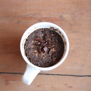 Single-Serve Molten Chocolate Mug Cake