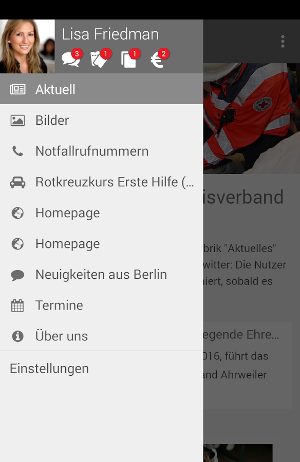 DRK-Kreisverband Ahrweiler- screenshot