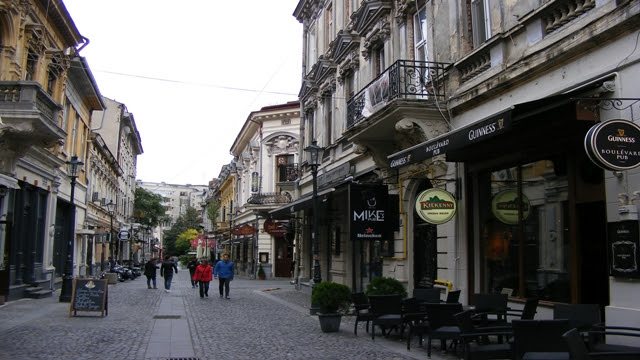 Bucharest Old City walk
