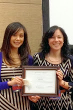 Photo: Best Student Abstract Award - Chari Cohen, MPH, DrPH (c)