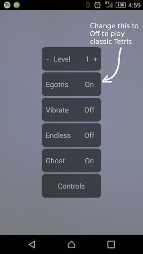 Egotris 1.1 screenshots 3