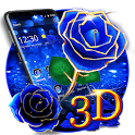 3D Love Rose Theme icon