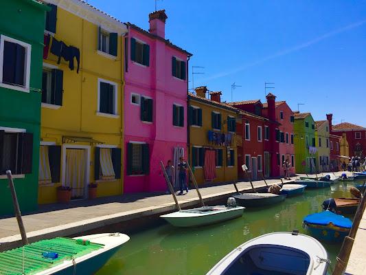 Burano, la casa e il barchino di GiuseppeZampieri