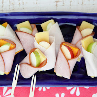 Apple Cheese Wraps