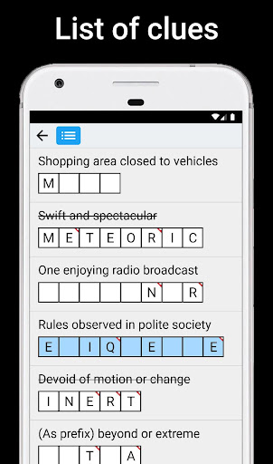 Crossword Puzzles android2mod screenshots 3