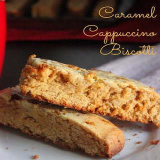Cappuccino Caramel Biscotti