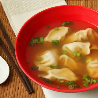 Wonton Soup (or Dumpling Soup)