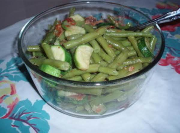 Green Beans With Zucchini